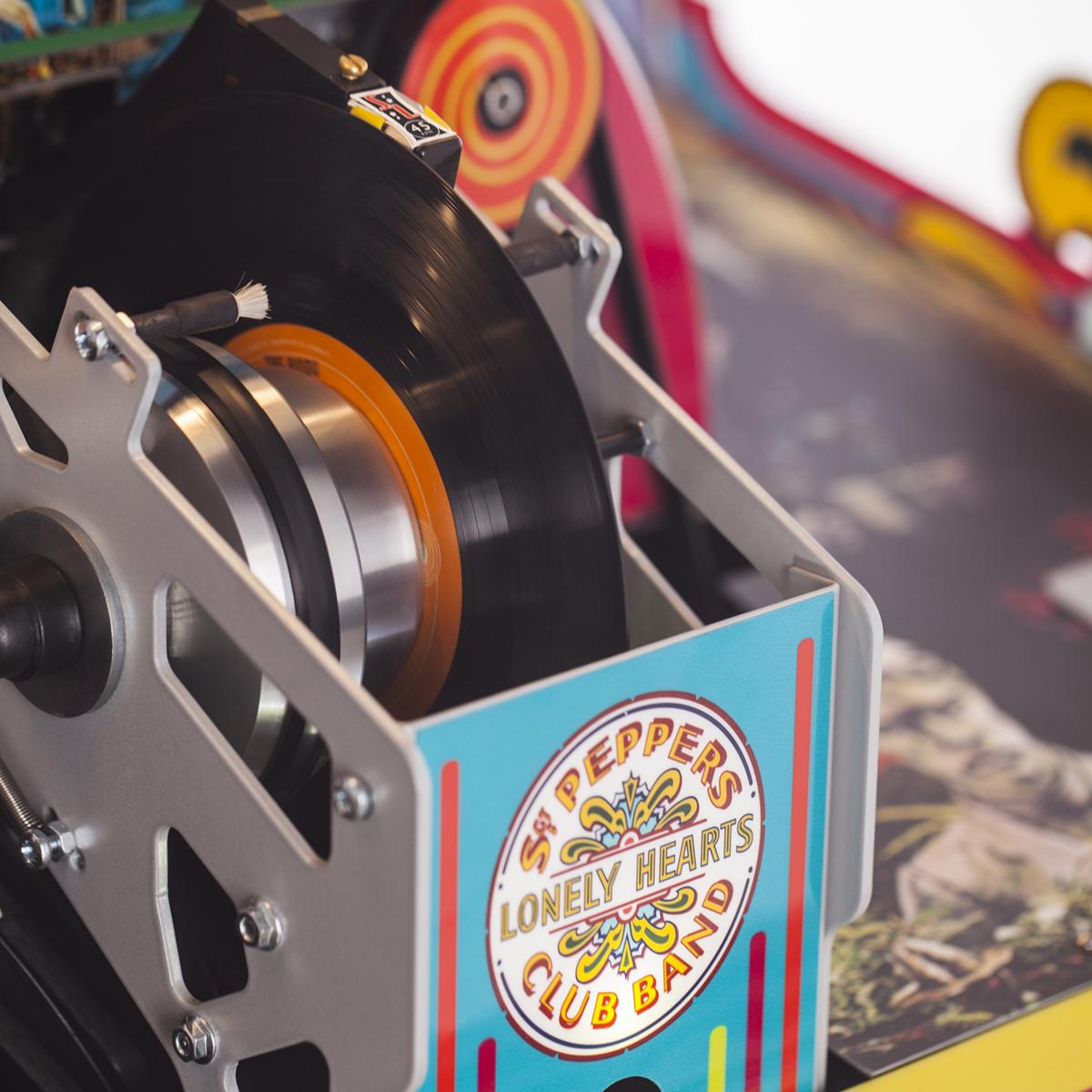 Sgt. Pepper Vinyl Rocket Jukebox