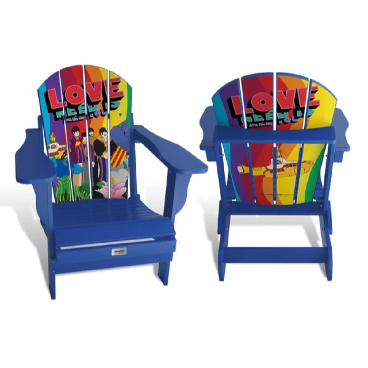 All You Need Is Love Custom Adult Folding Adirondack Chair