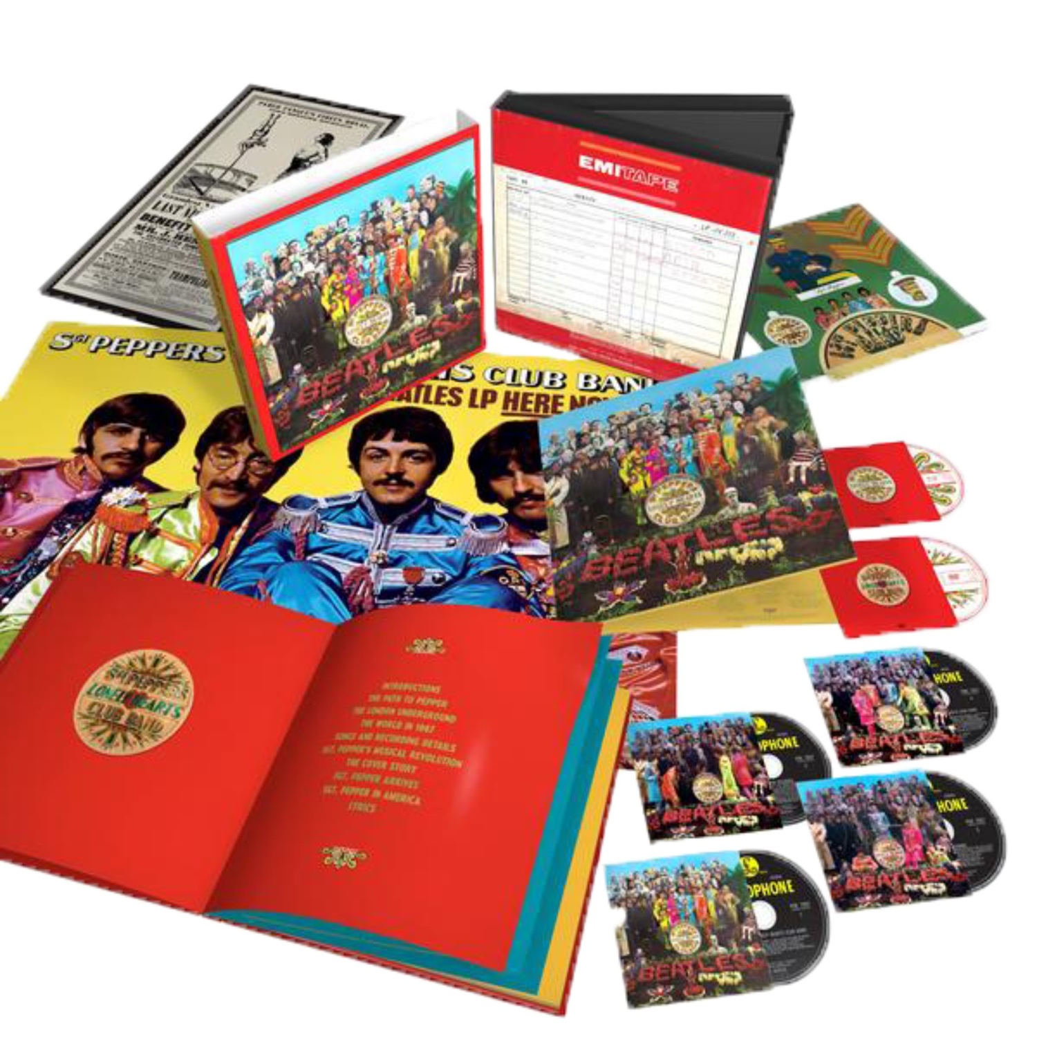 Sgt. Pepper's Lonely Hearts Club Band 6 Disc Super Deluxe (Anniversary Edition)