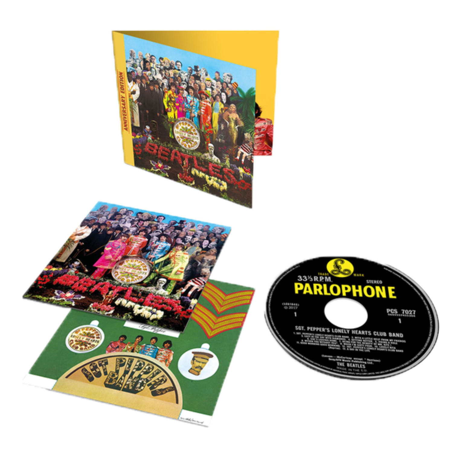 Sgt. Pepper's Lonely Hearts Club Band CD (Anniversary Edition)