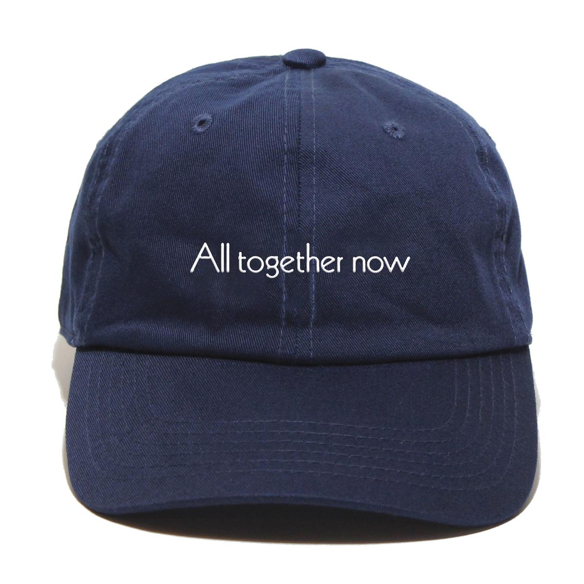 All Together Now Adjustable Hat