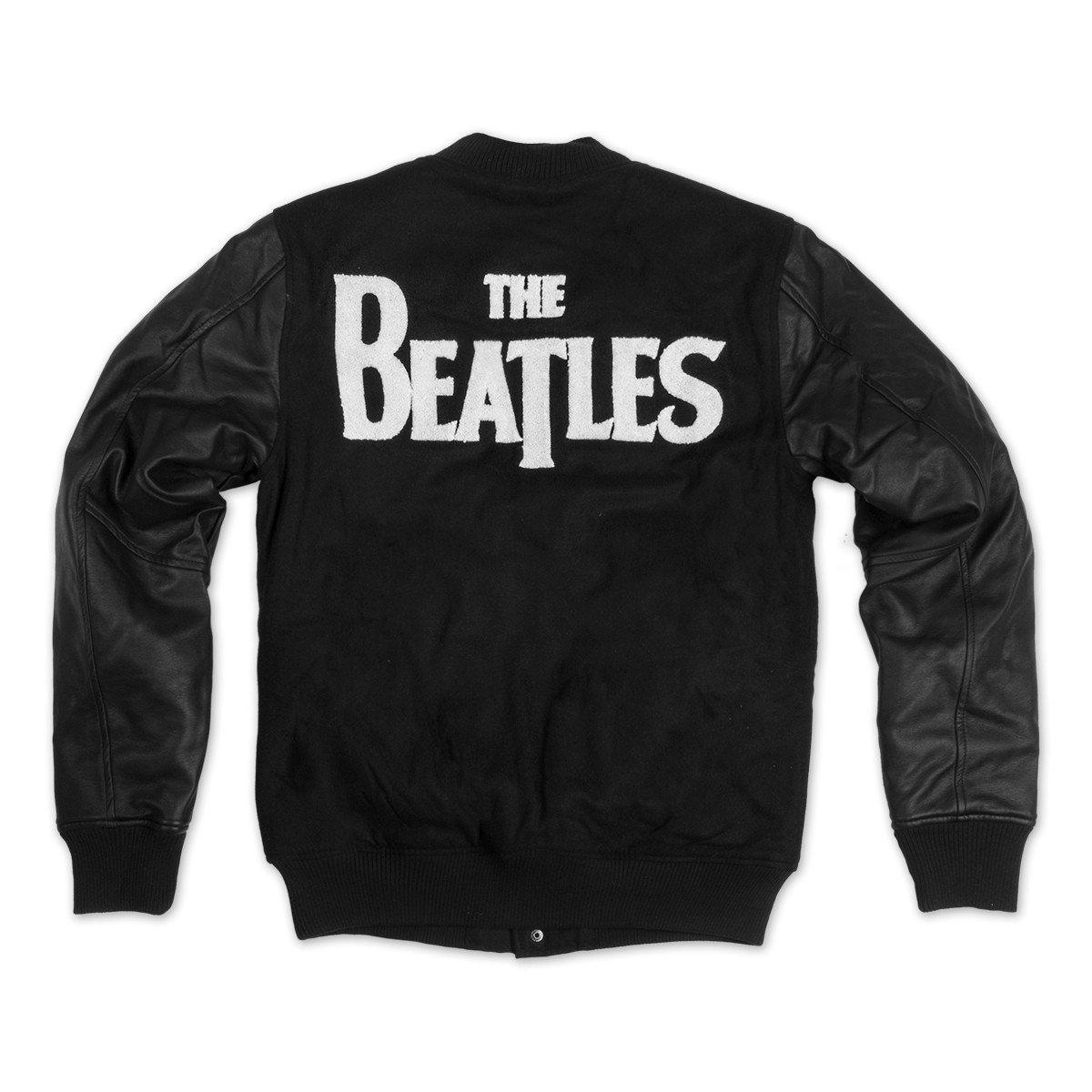 Beatles Drop T Logo Varsity Jacket