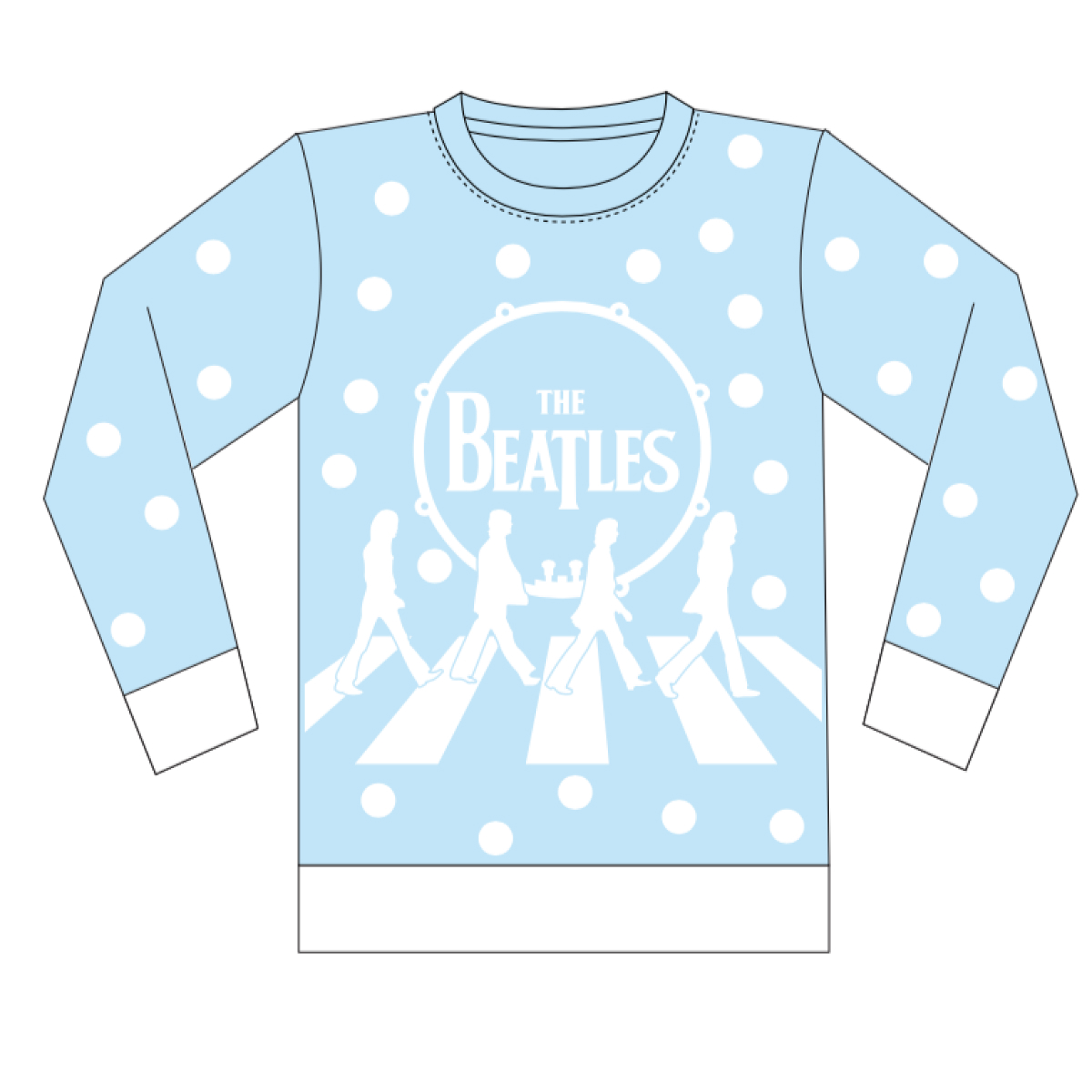 Abbey Road Holiday Jacquard Knit Sweater