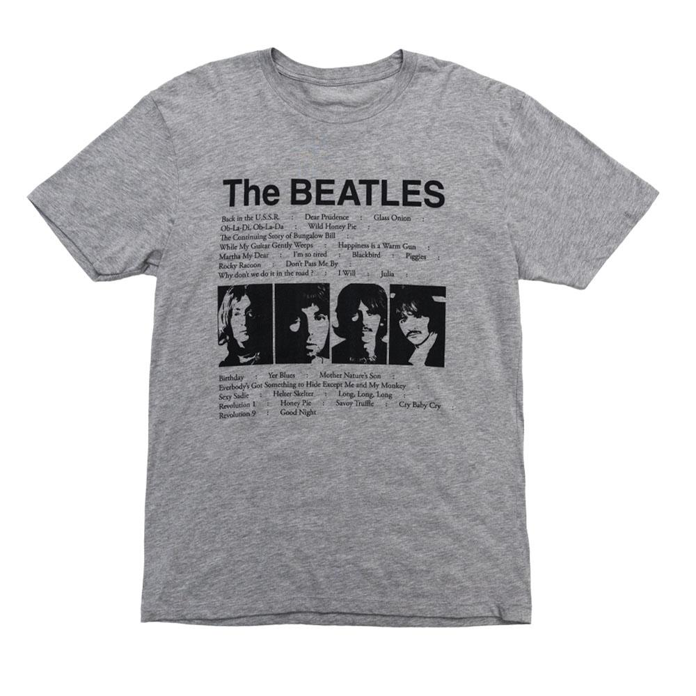 The Beatles (White Album) Song List T-Shirt