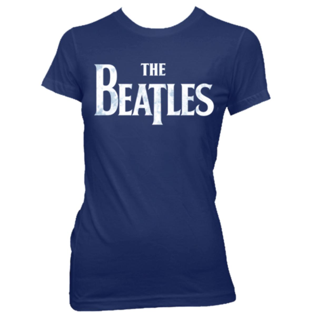 The Beatles Classic Blue Women's T-Shirt