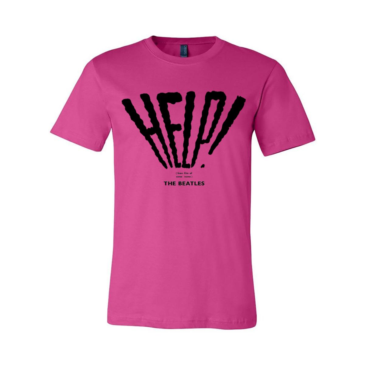 Help! / I'm Down Pink Tee