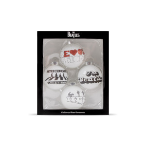 The Beatles Holiday Ornament Box Set
