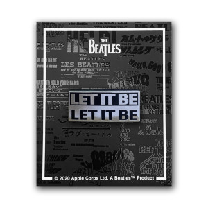 Let It Be Enamel Pin