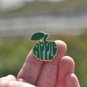 Apple Logo Enamel Pin