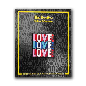 Love Love Love Enamel Pin