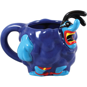Blue Meanie Sculpted Mug