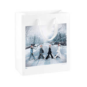 Snowy Abbey Road Gift Bag