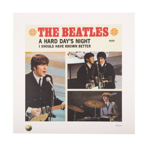 A Hard Days Night / I Should Have Known Better Lithograph