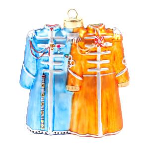 Beatles Coats Ornament