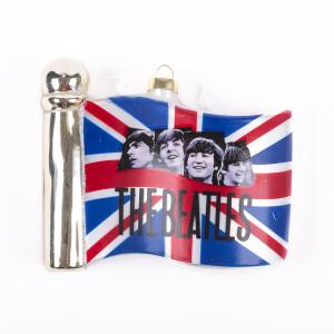 The Beatles British Flag Ornament
