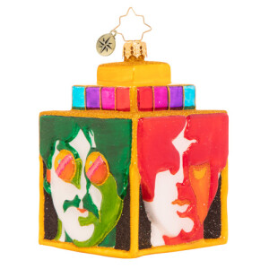 Sea of Science Cube Ornament