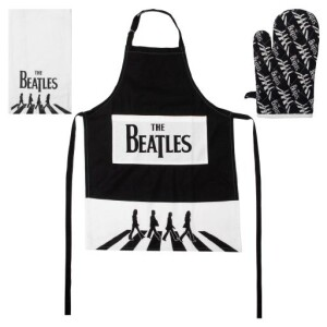 The Beatles Kitchen Textile Set