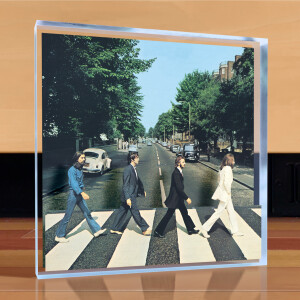 The Beatles Abbey Road Desktop Art