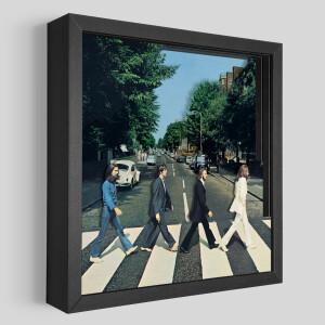 The Beatles Abbey Road Shadowbox Art