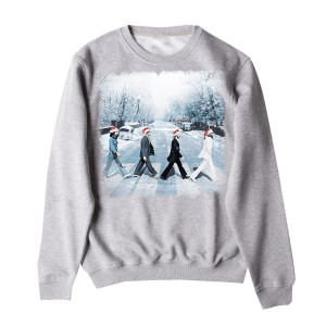 Snowy Abbey Road Crewneck