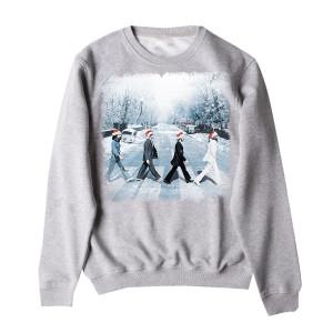 Snowy Abbey Road Crewneck
