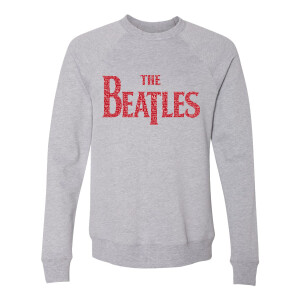 The Beatles Logo Love Songs Crewneck