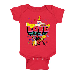 All You Need is Love & The Yellow Sub Onesie