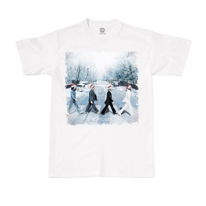 Snowy Abbey Road White Tee