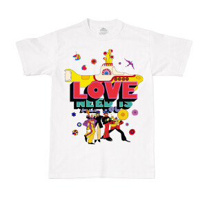 All You Need is Love & The Yellow Sub White T-Shirt