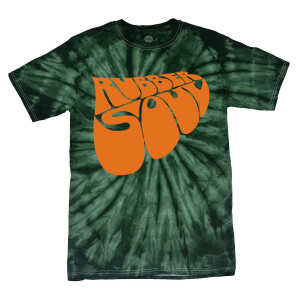 Rubber Soul Green Tie-Dye T-Shirt