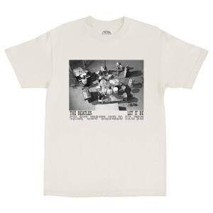 Let It Be Studio Session Photo Cream T-Shirt