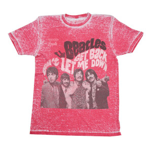 Get Back / Don't Let Me Down Washed Ruby T-Shirt