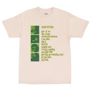Let It Be Album Tracklist Tan T-Shirt