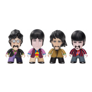"""Titans 3"""" Glow in the Dark Fab Four Pack"""
