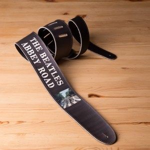 "Abbey Road 2.5"" Vinyl D'Addario Guitar Strap"