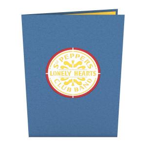 Sgt. Pepper LovePop Card