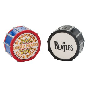 Drums Ceramic Salt & Pepper Set