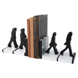 The Beatles Abbey Road Silhouettes Sculpted Resin Bookends