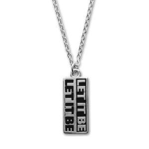 Let It Be Unisex Necklace