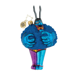 Merry Blue Meanie Ornament