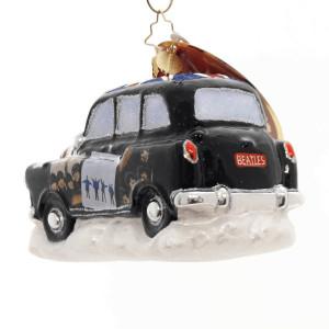Beatles Album Cover Cab Ornament
