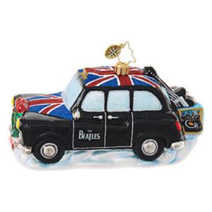 Beatles Instrument Cab Ornament