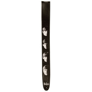 Meet the Beatles Vegan Leather D'Addario Guitar Strap