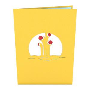 Yellow Submarine LovePop Card
