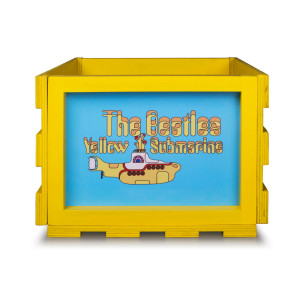 Yellow Submarine LP Crosley Storage Crate