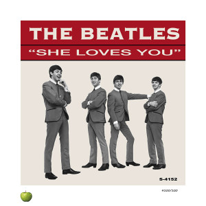She Loves You Lithograph