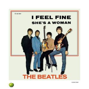 I Feel Fine Lithograph