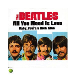 """""""All You Need Is Love"""" Sgt. Pepper's Lithograph"""