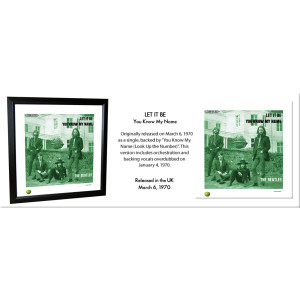 Let It Be Lithograph