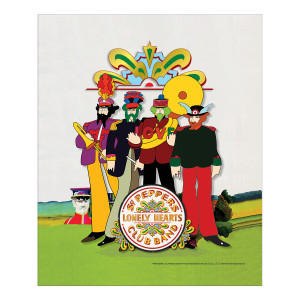 Pepperland Band w/Drum Head